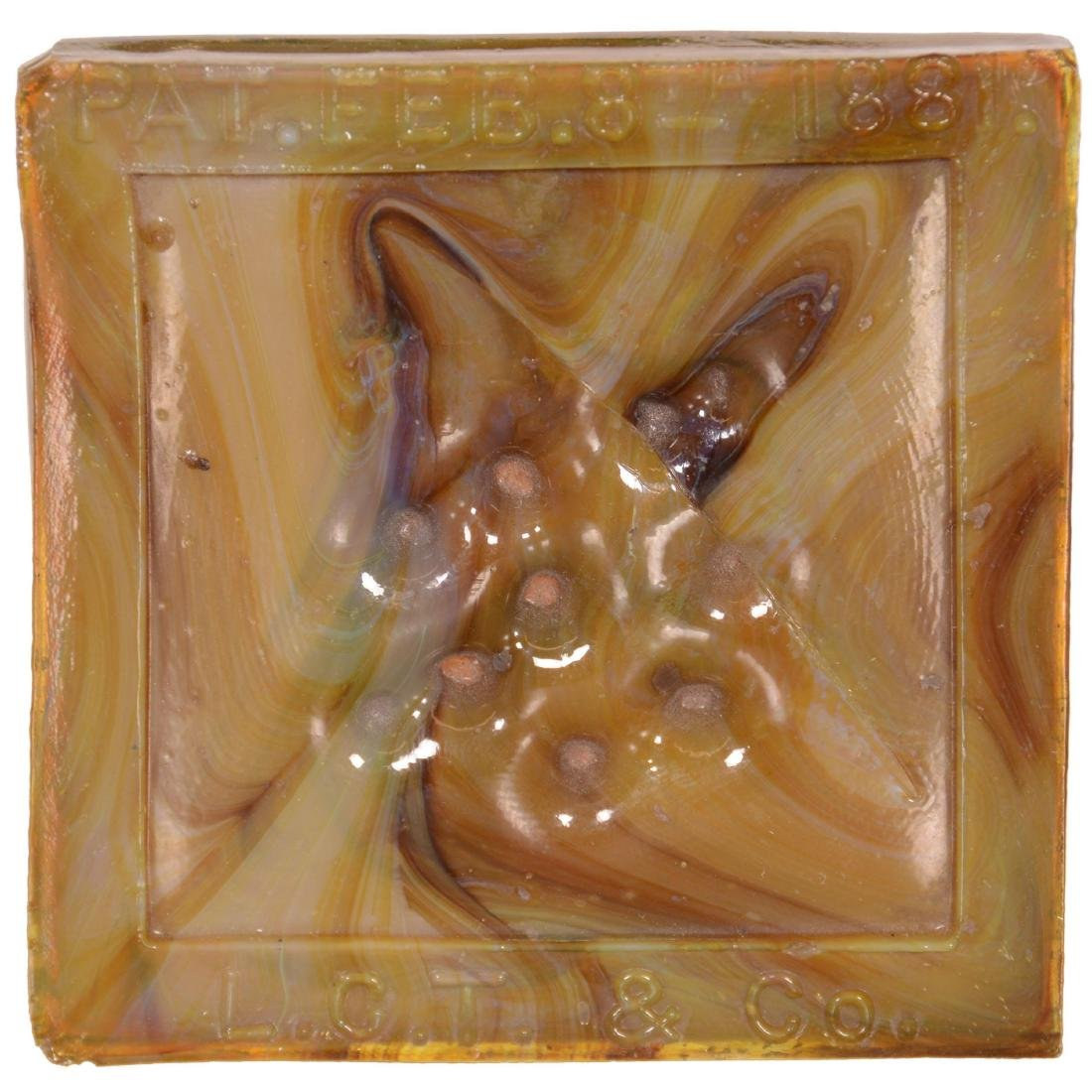 Tiffany Art Glass Tile