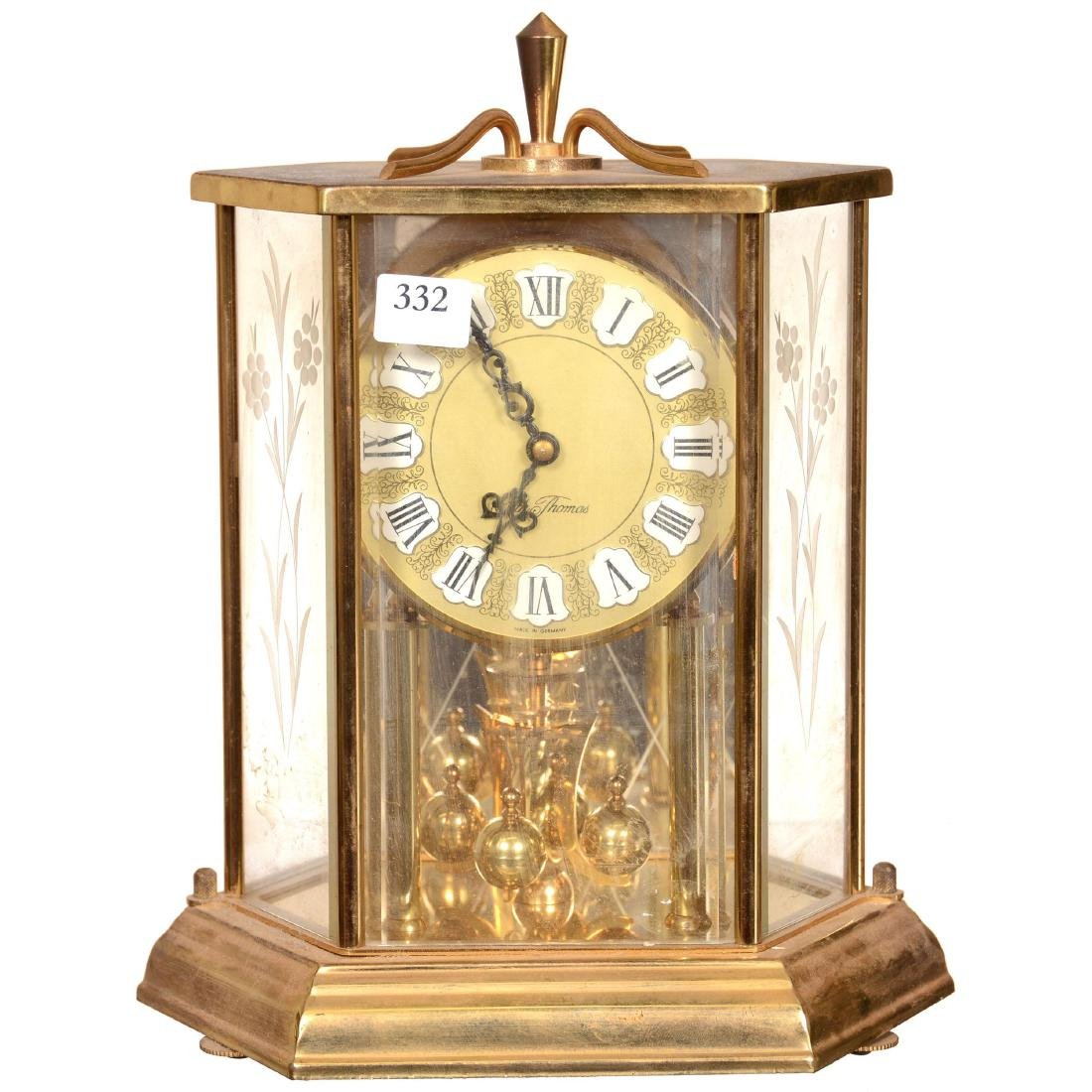 Seth Thomas Six-Sided Anniversary Clock