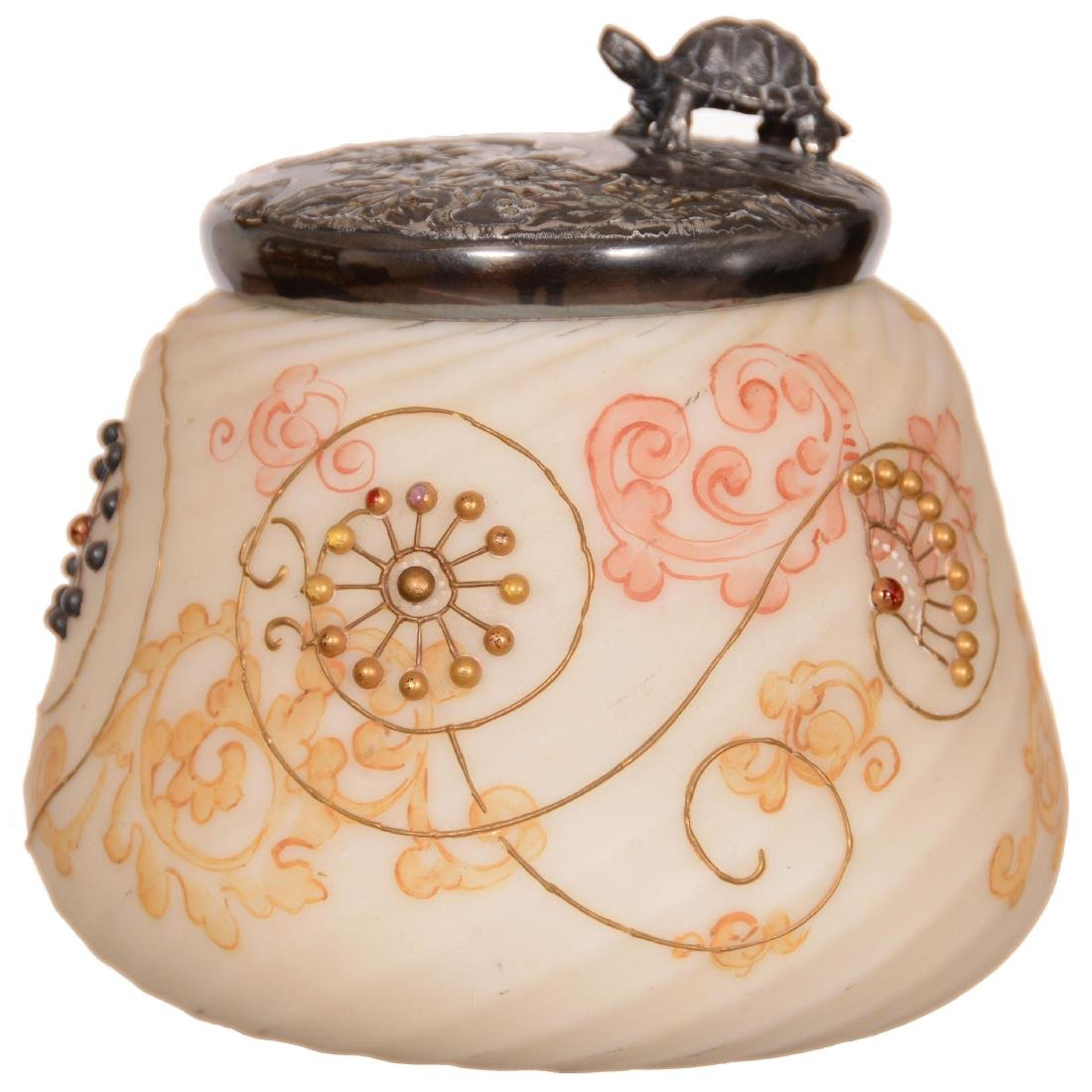 Unmarked Crown Milano Covered Jar