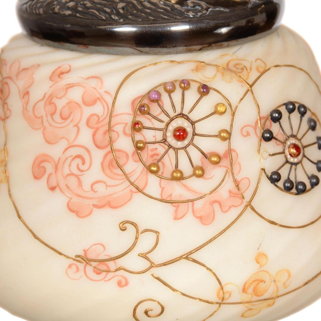 Unmarked Crown Milano Covered Jar - 2