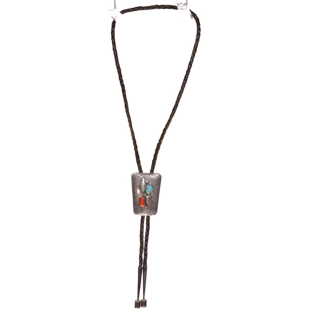 Authentic American Indian Bolo Tie