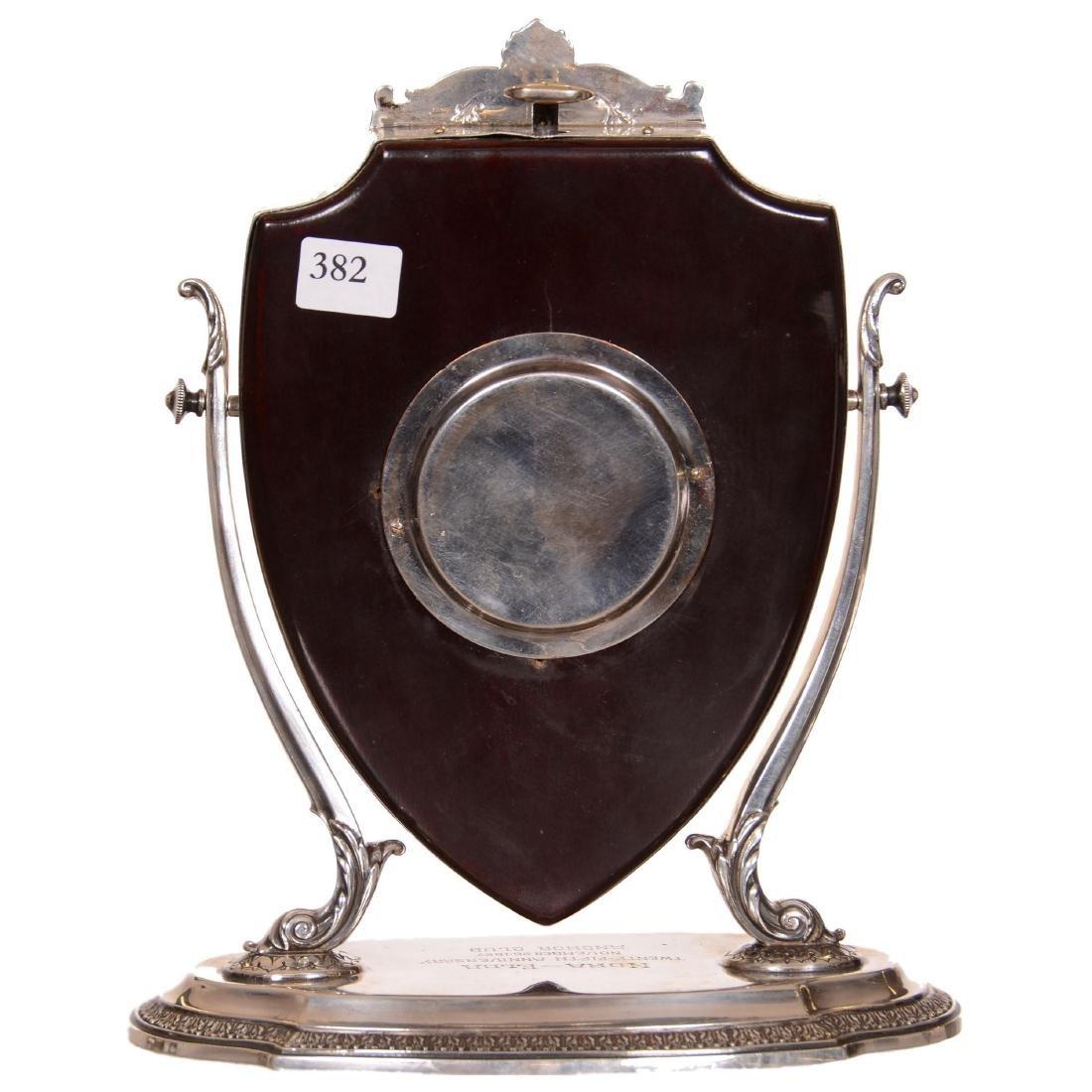 Sterling Silver Desk Clock - 2