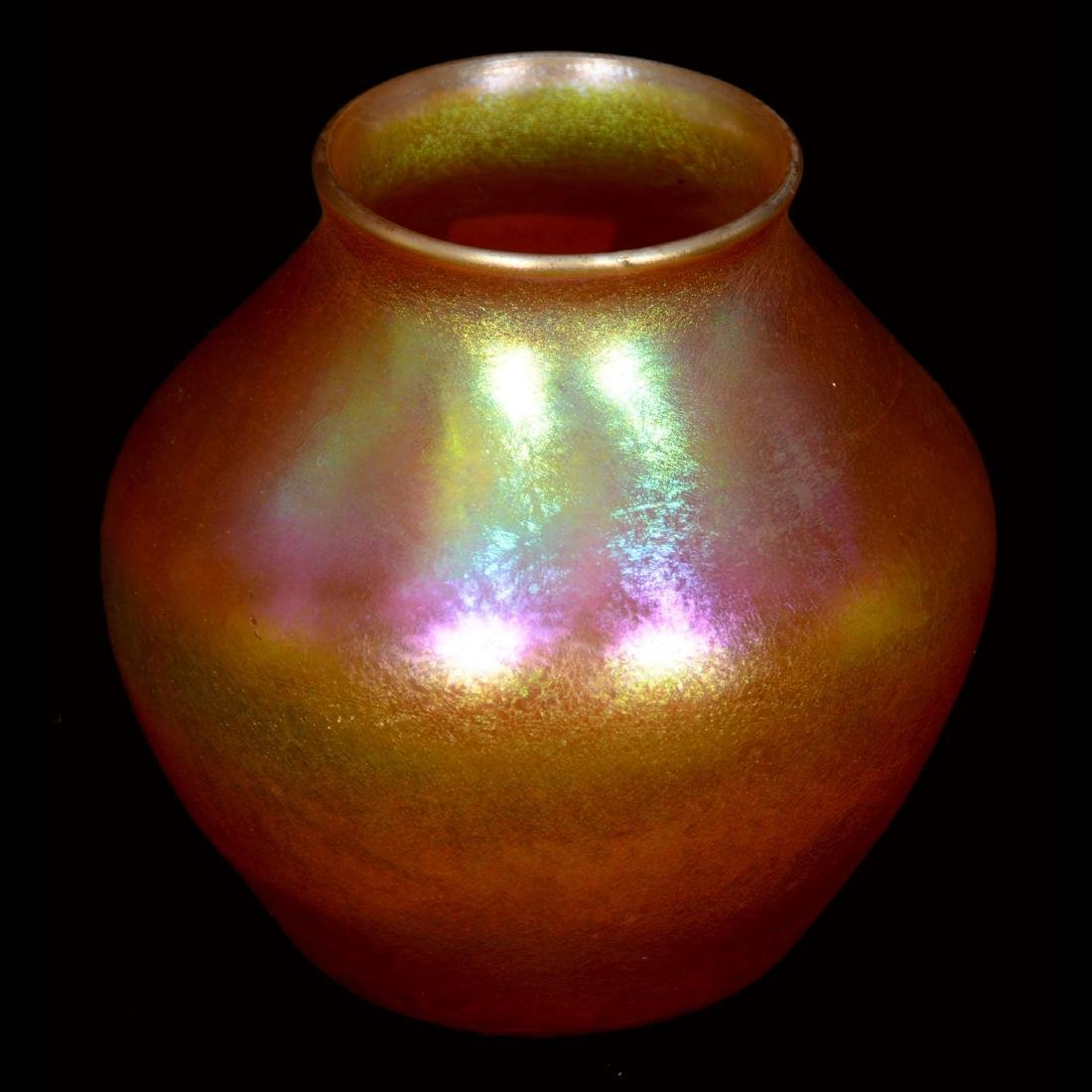 Tiffany Art Glass Vase