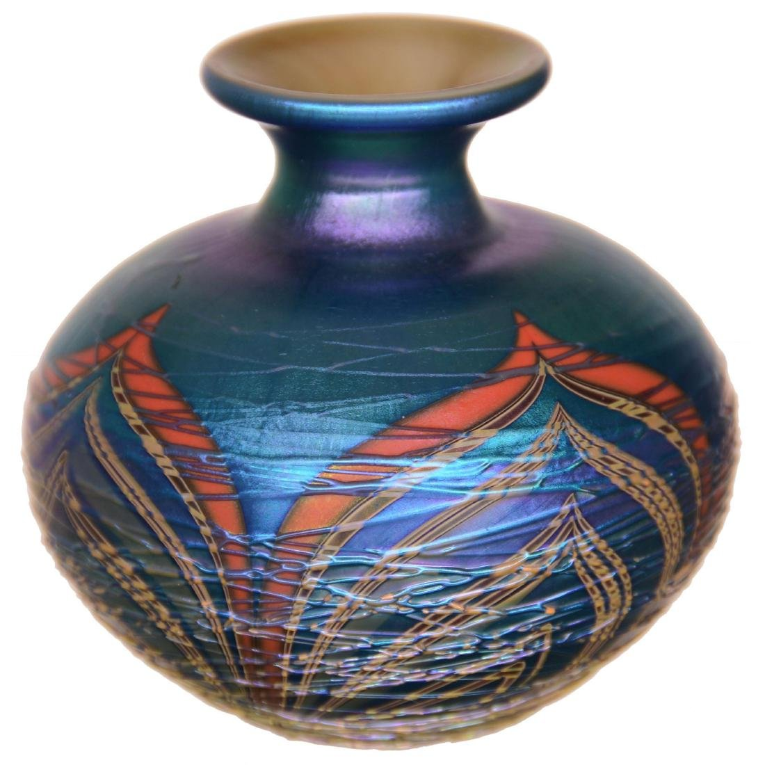 Contemporary Art Glass Miniature Vase