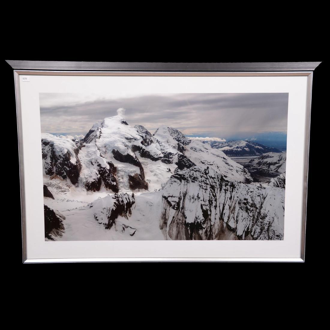 "Artist Signed Photographic Print Titled ""Alaska"""