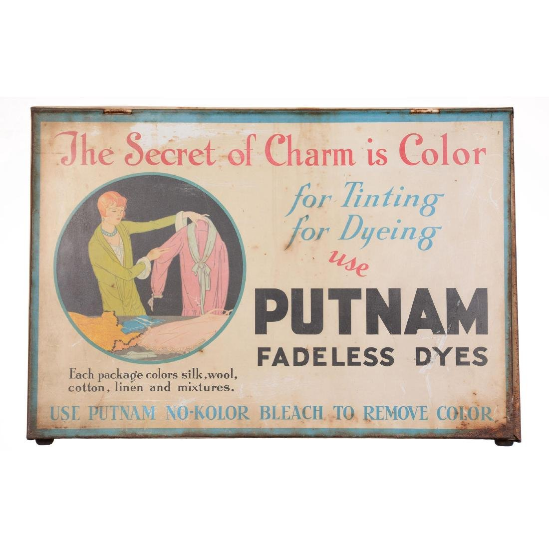 Putnam Advertising Tin