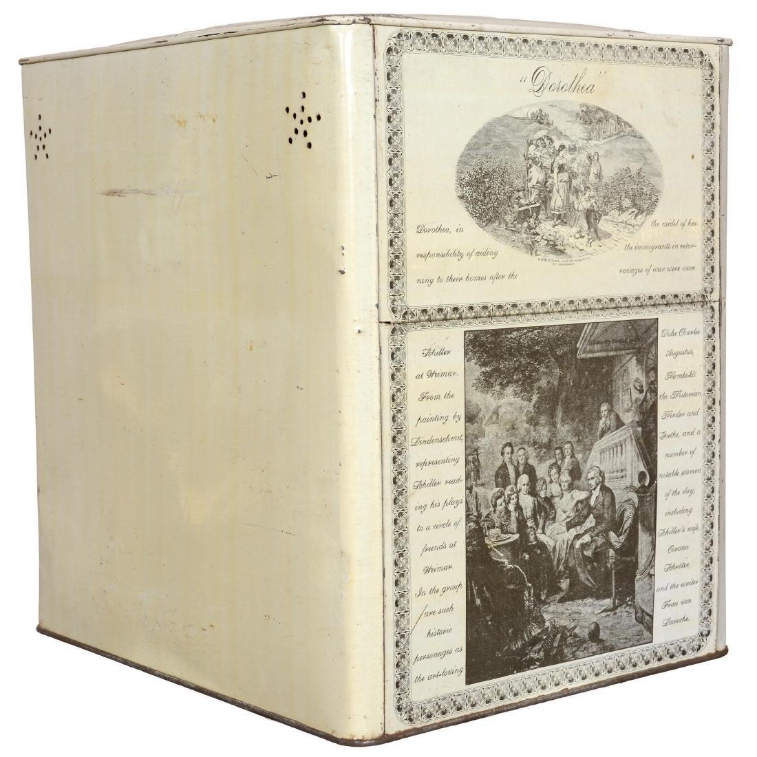 """Schepp's Cake Box"" Advertising Tin - 2"