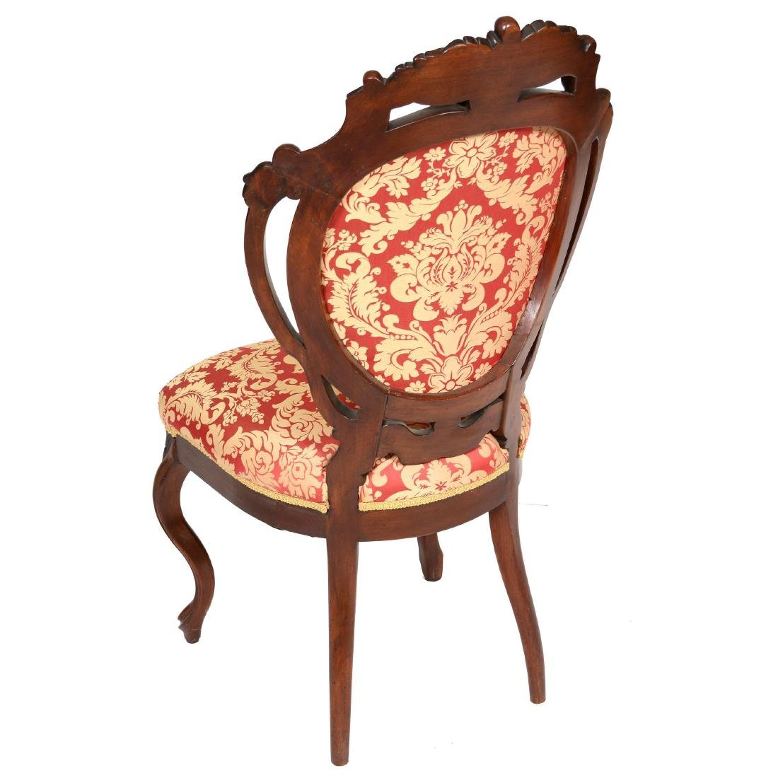 (2) Victorian Parlor Chairs - 3