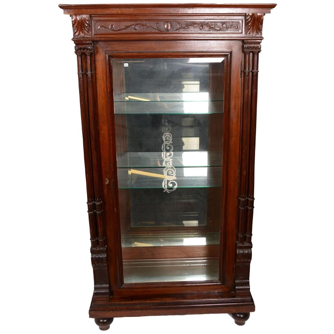 Beautiful Mahogany Display Cabinet