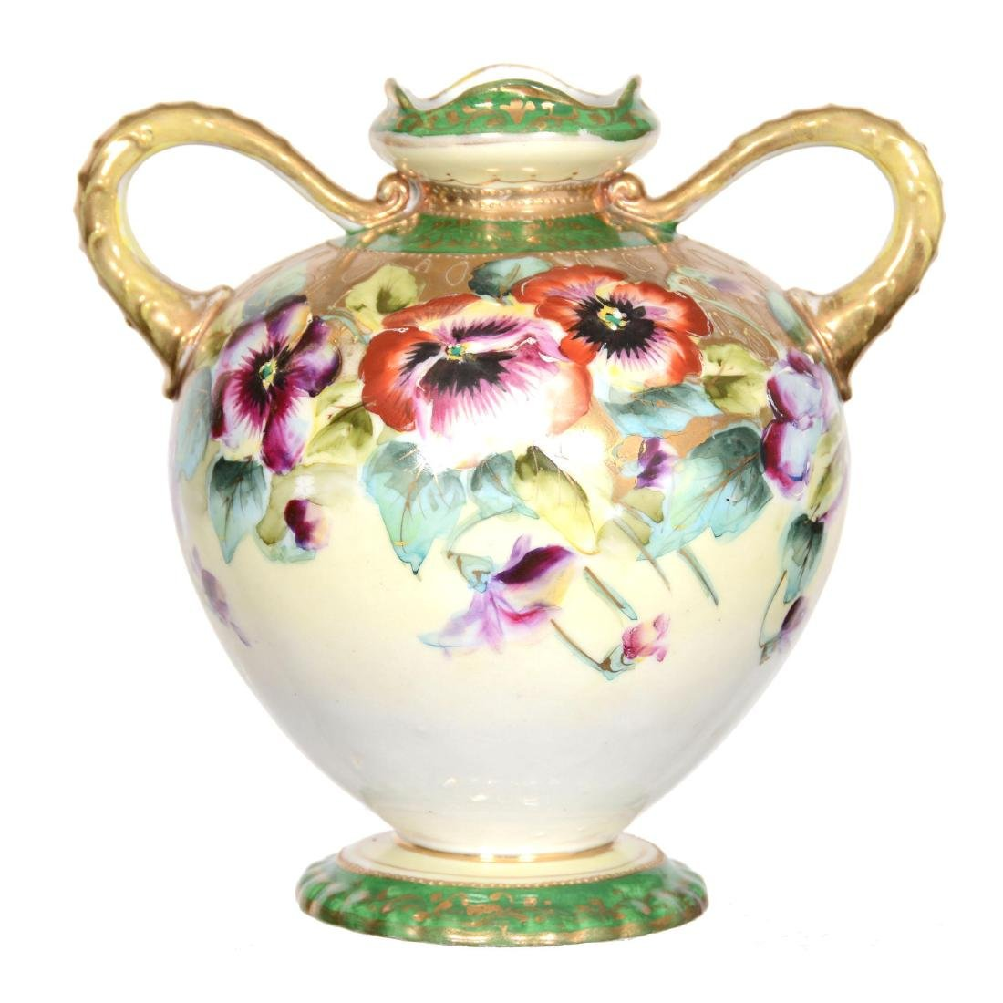 Nippon Two-Handled Vase