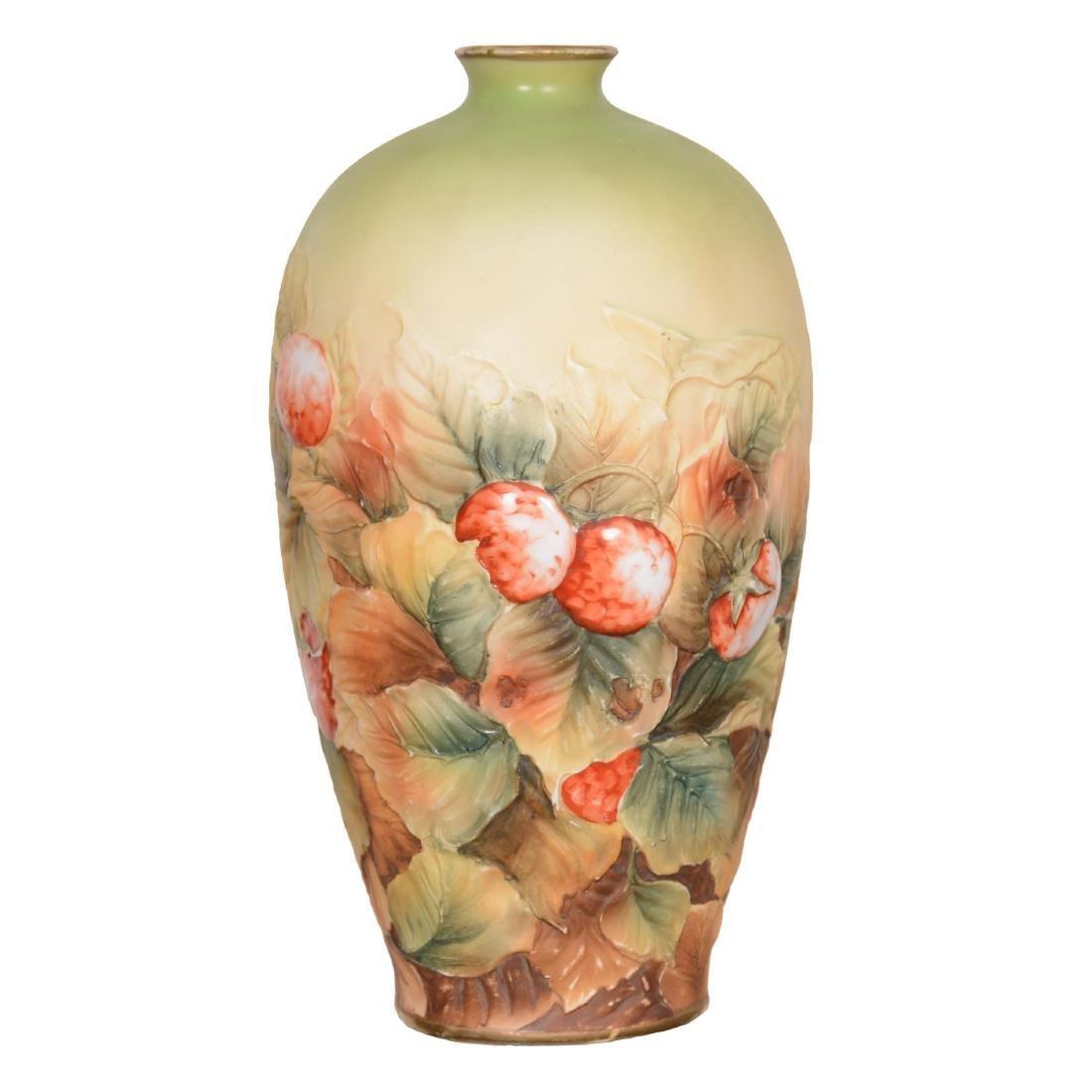 Nippon Blown Mold Vase
