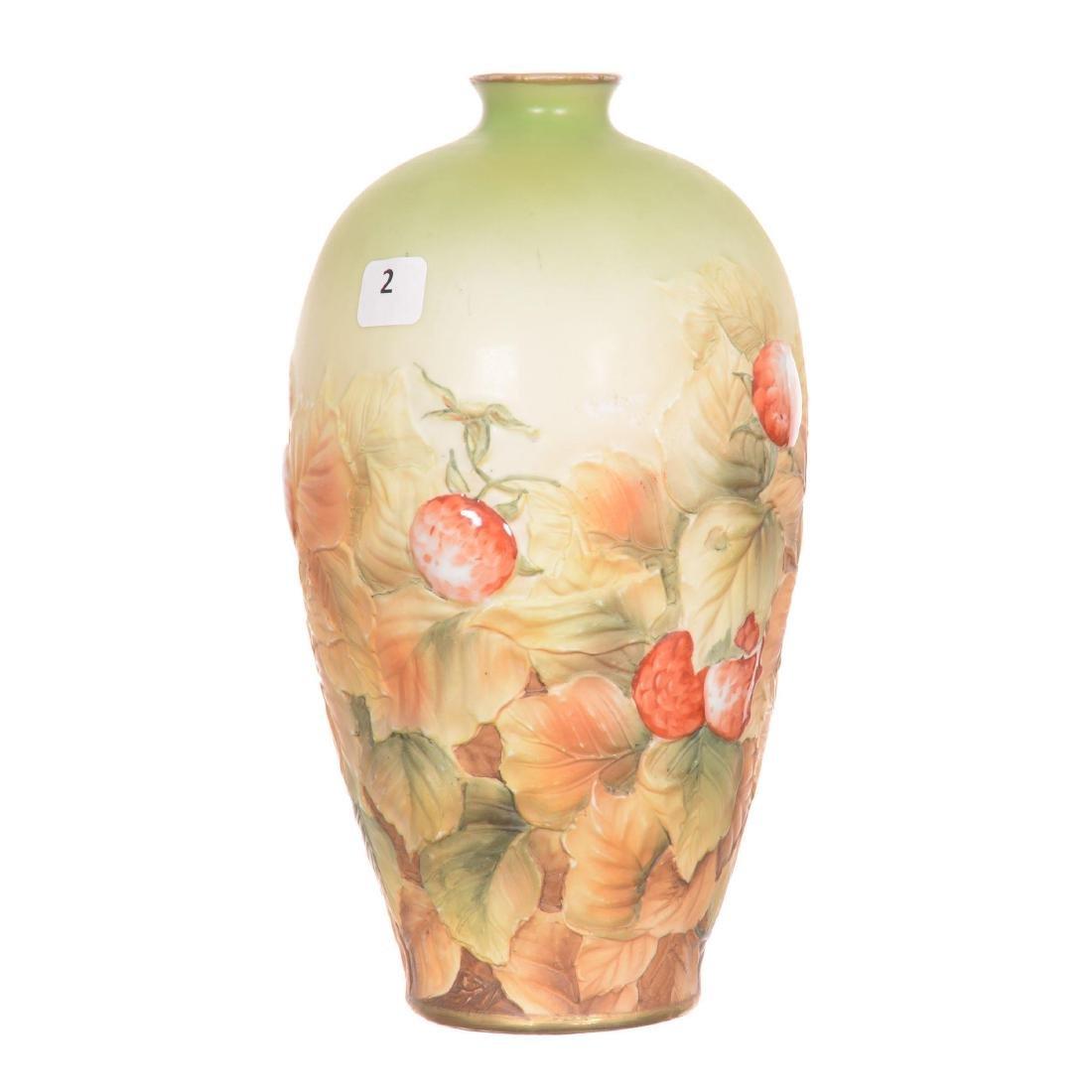 Nippon Blown Mold Vase - 2