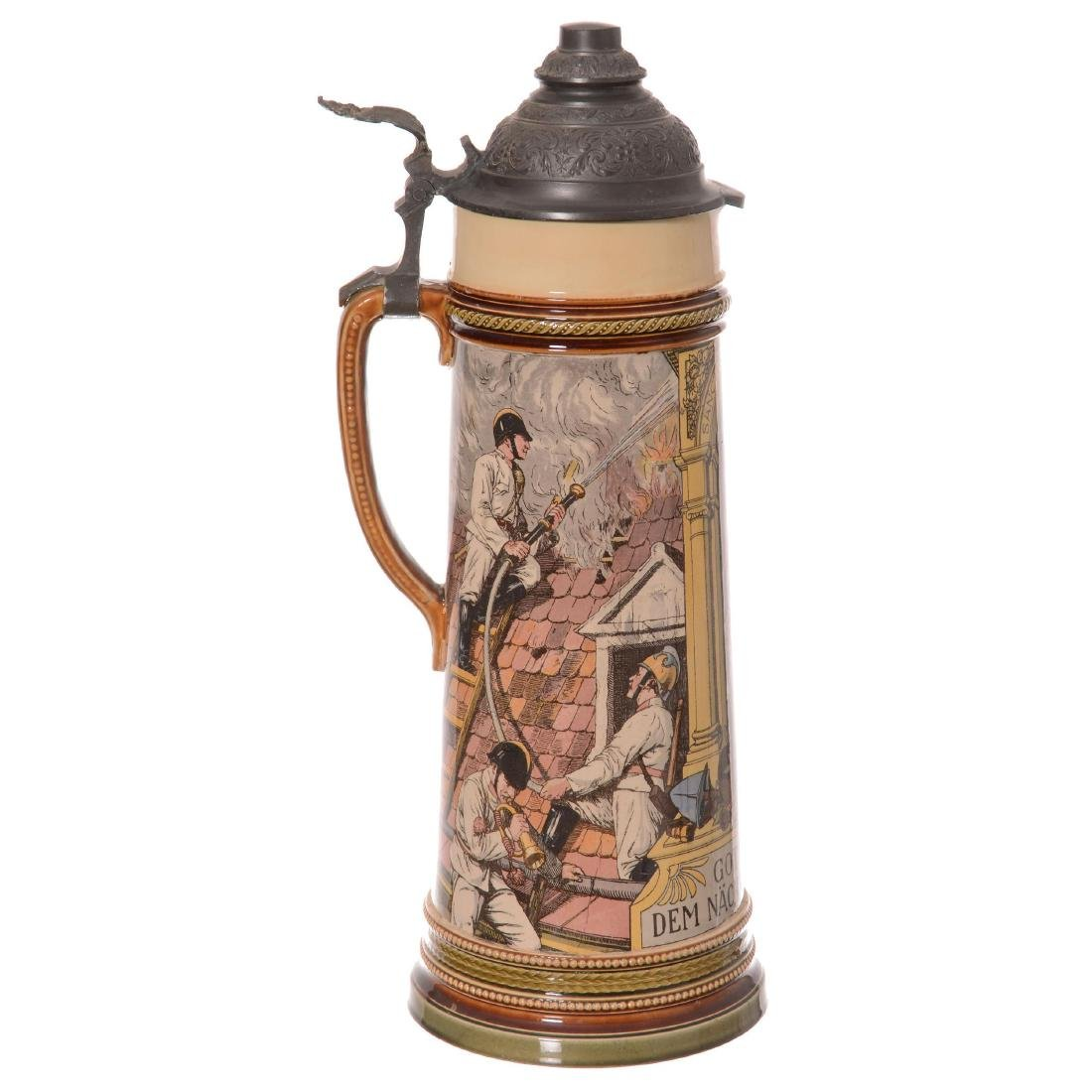 Mettlach German Stein