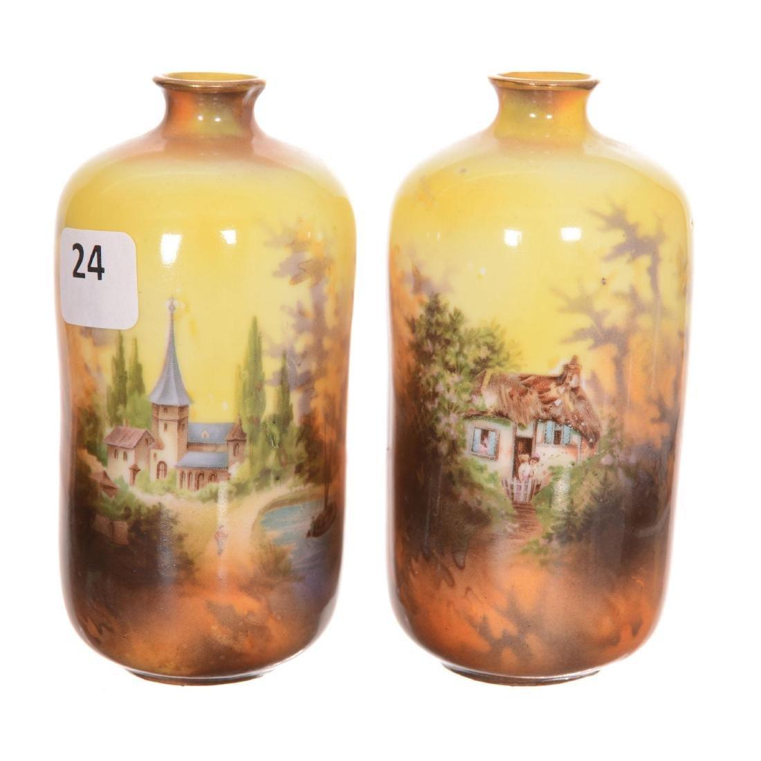 (2) RSP Vases