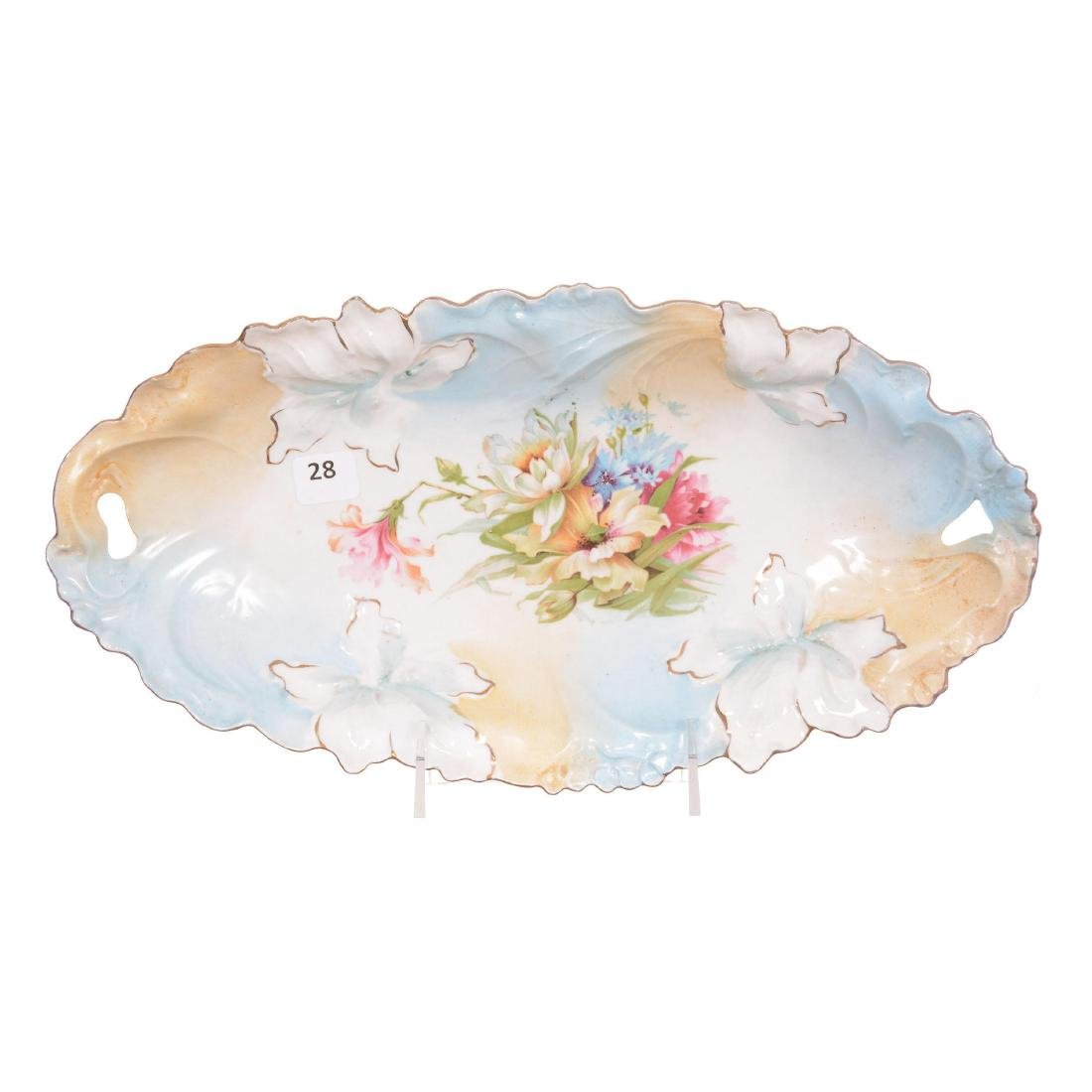 Unmarked R.S. Prussia Celery Tray