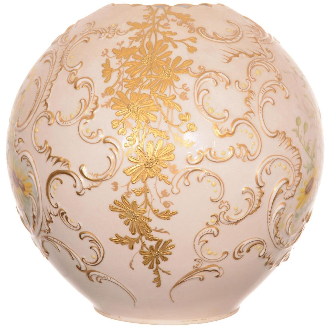 Extremely Rare Original Limoges Banquet Lamp - 5