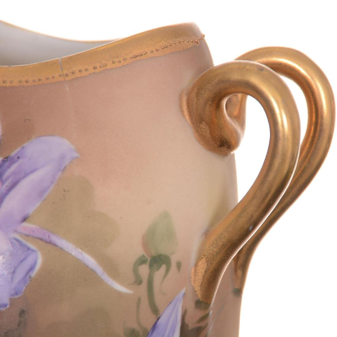 Nippon Two-Handled Vase - 4