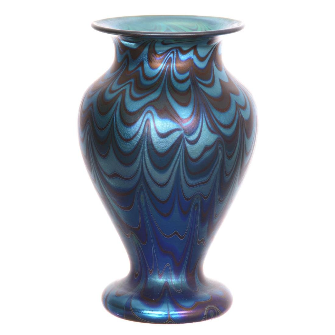 Contemporary Art Glass Vase