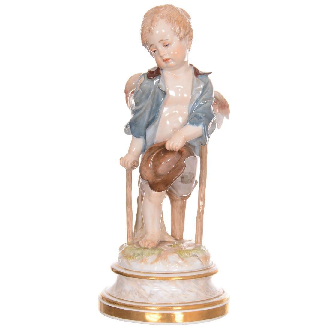 Meissen Cherub Figurine