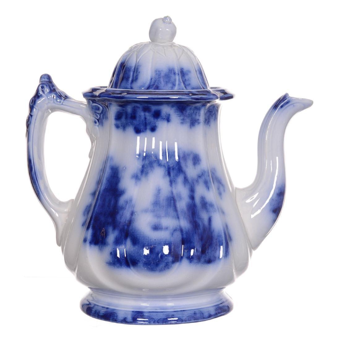 (6) Flow Blue Coffee Pot - 2