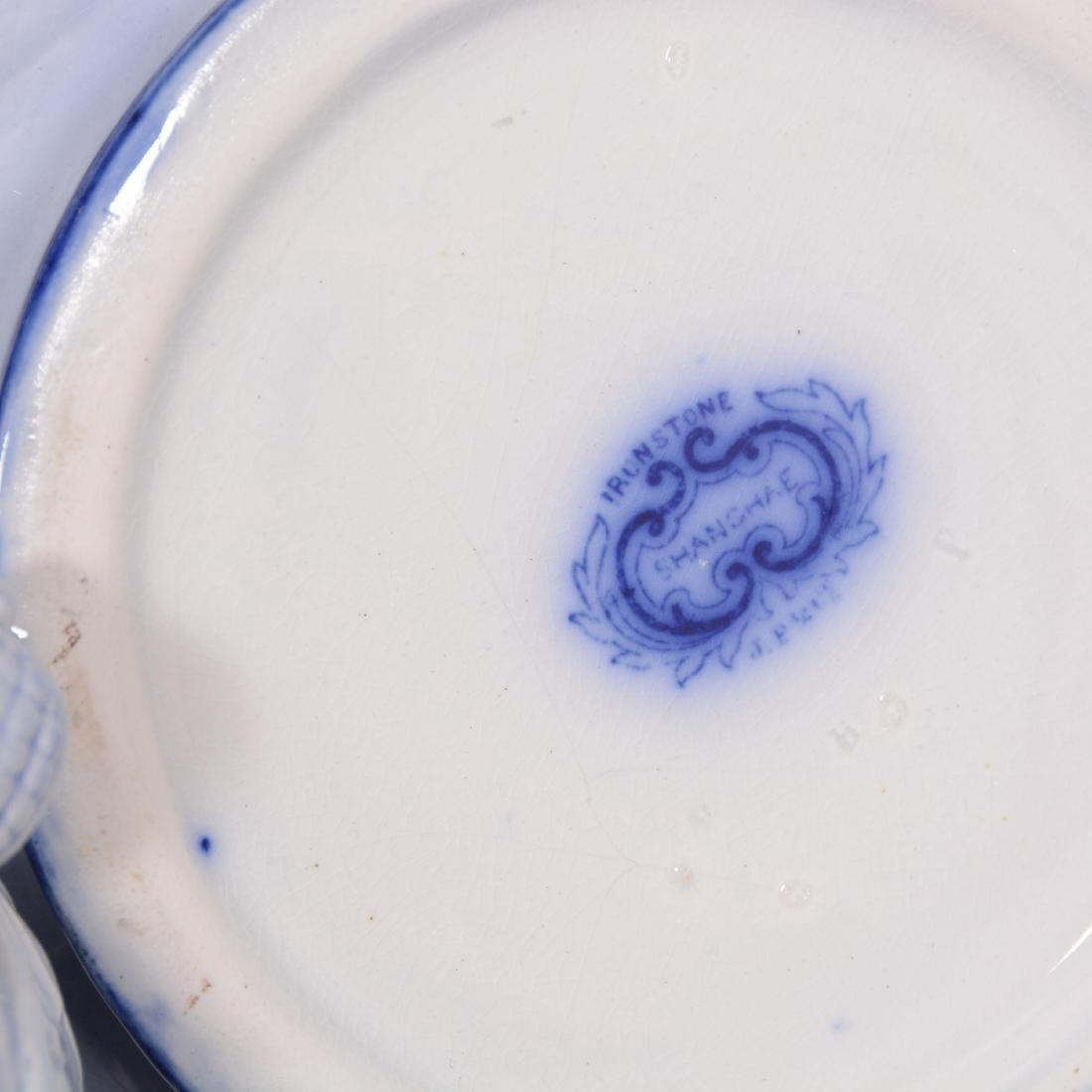 (6) Flow Blue Coffee Pot - 3
