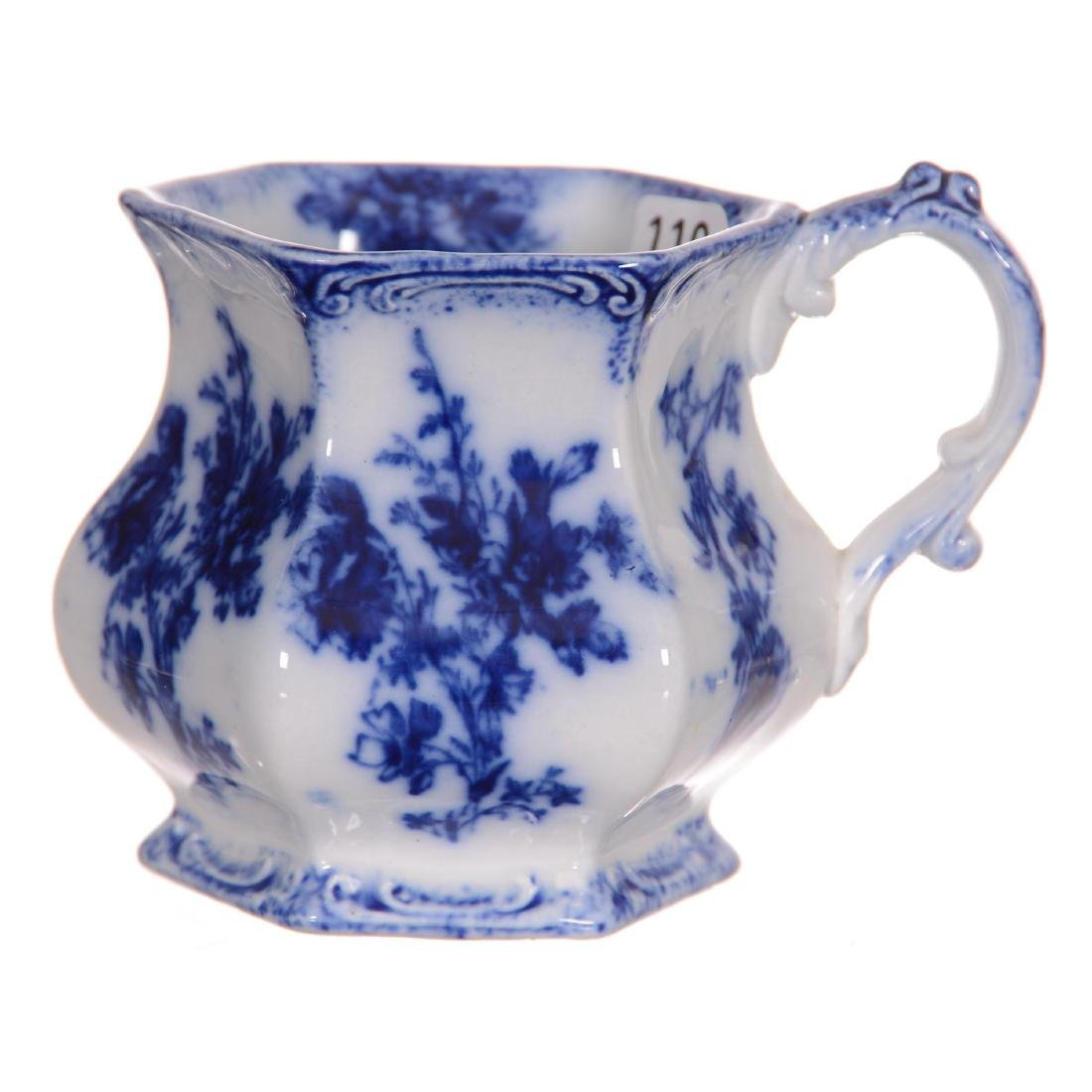 Flow Blue Doreen Pattern Shaving Mug