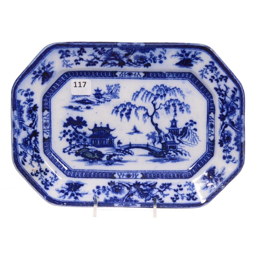 Flow Blue Small Tray by Maddock