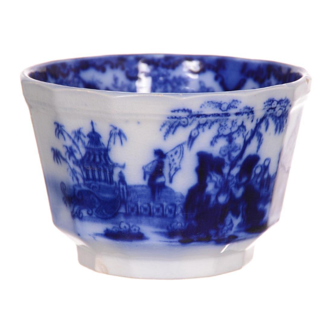 Flow Blue Scinde Pattern Waste Bowl