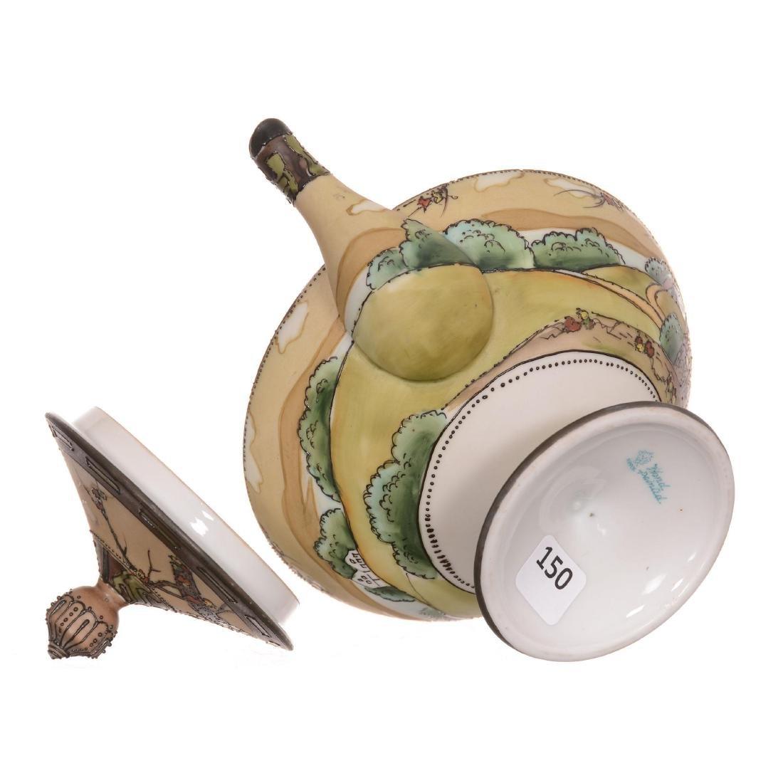 Nippon Pedestal Tea Pot - 2
