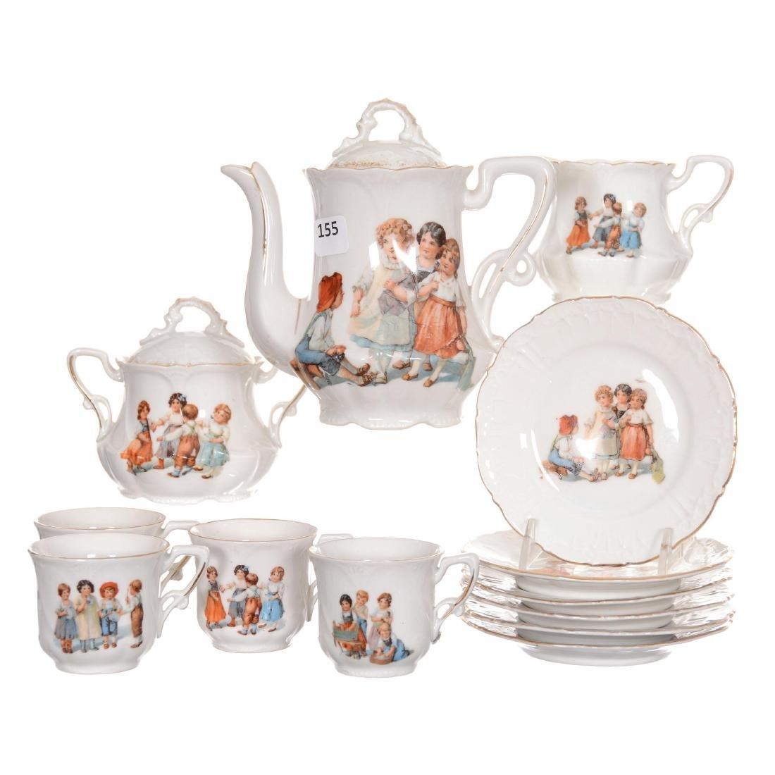 German Child's Tea Set