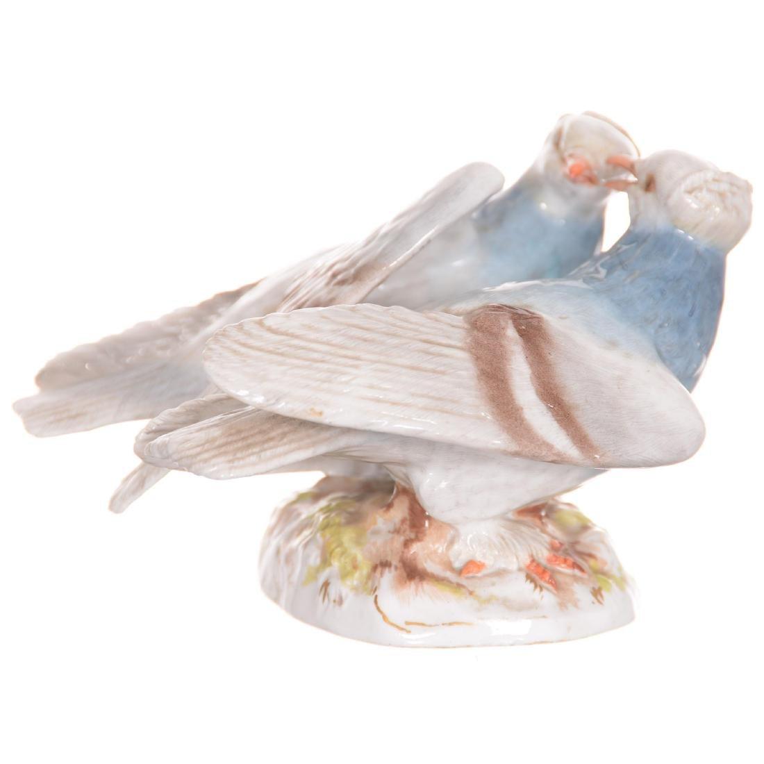Meissen Figural Bird Group