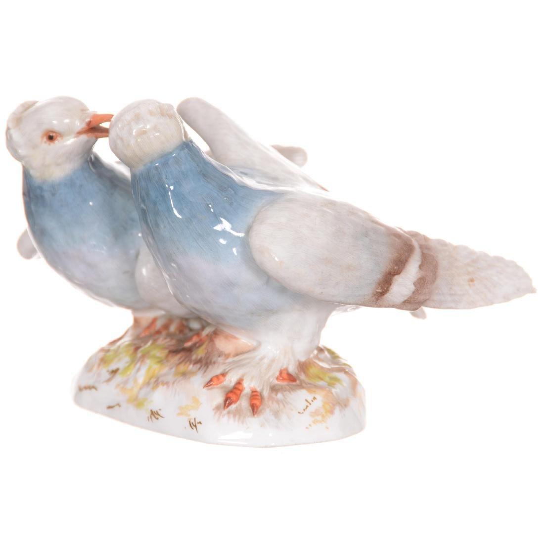 Meissen Figural Bird Group - 2