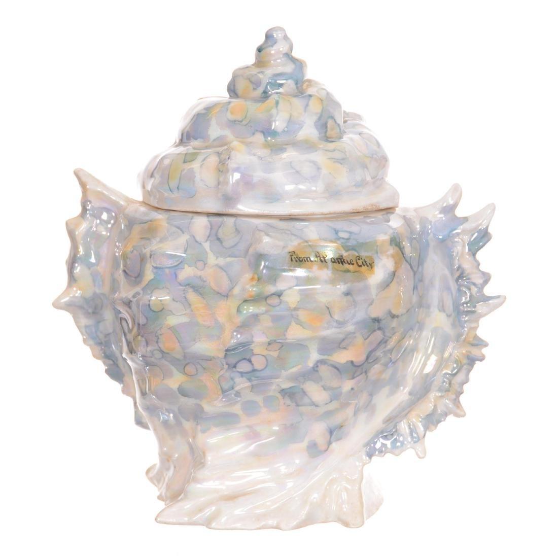 Royal Bayreuth Figural Biscuit Jar