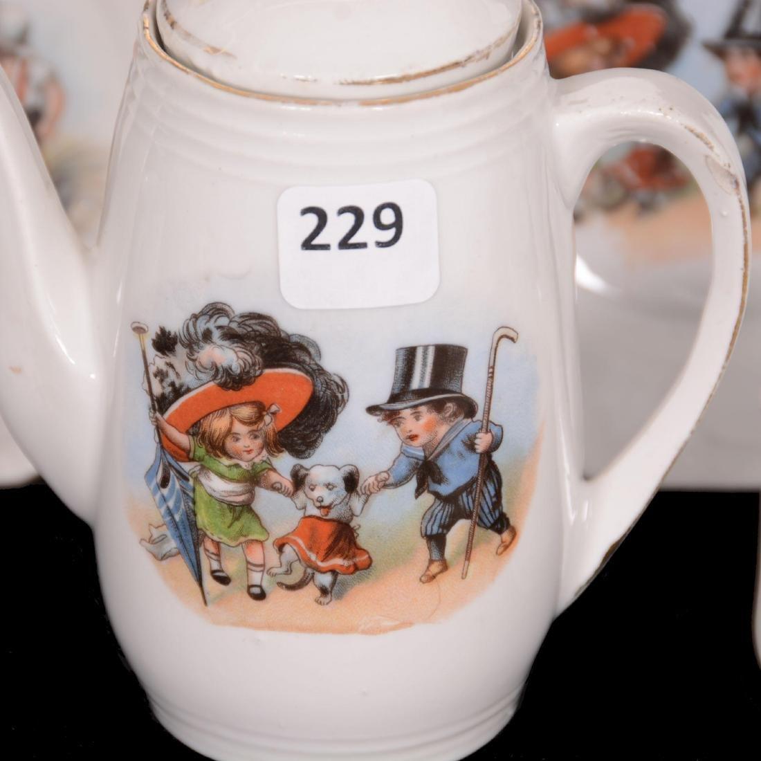 Unmarked Germany Child's Tea Set - 2