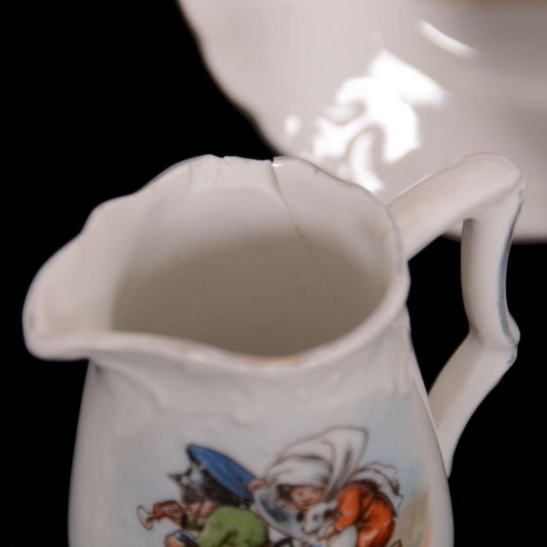 Unmarked Germany Child's Tea Set - 3