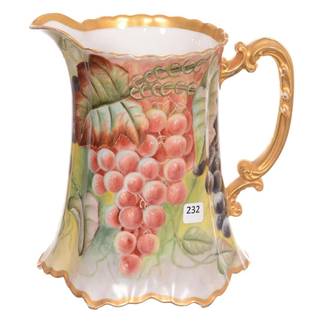 Marked Haviland Pitcher - 2