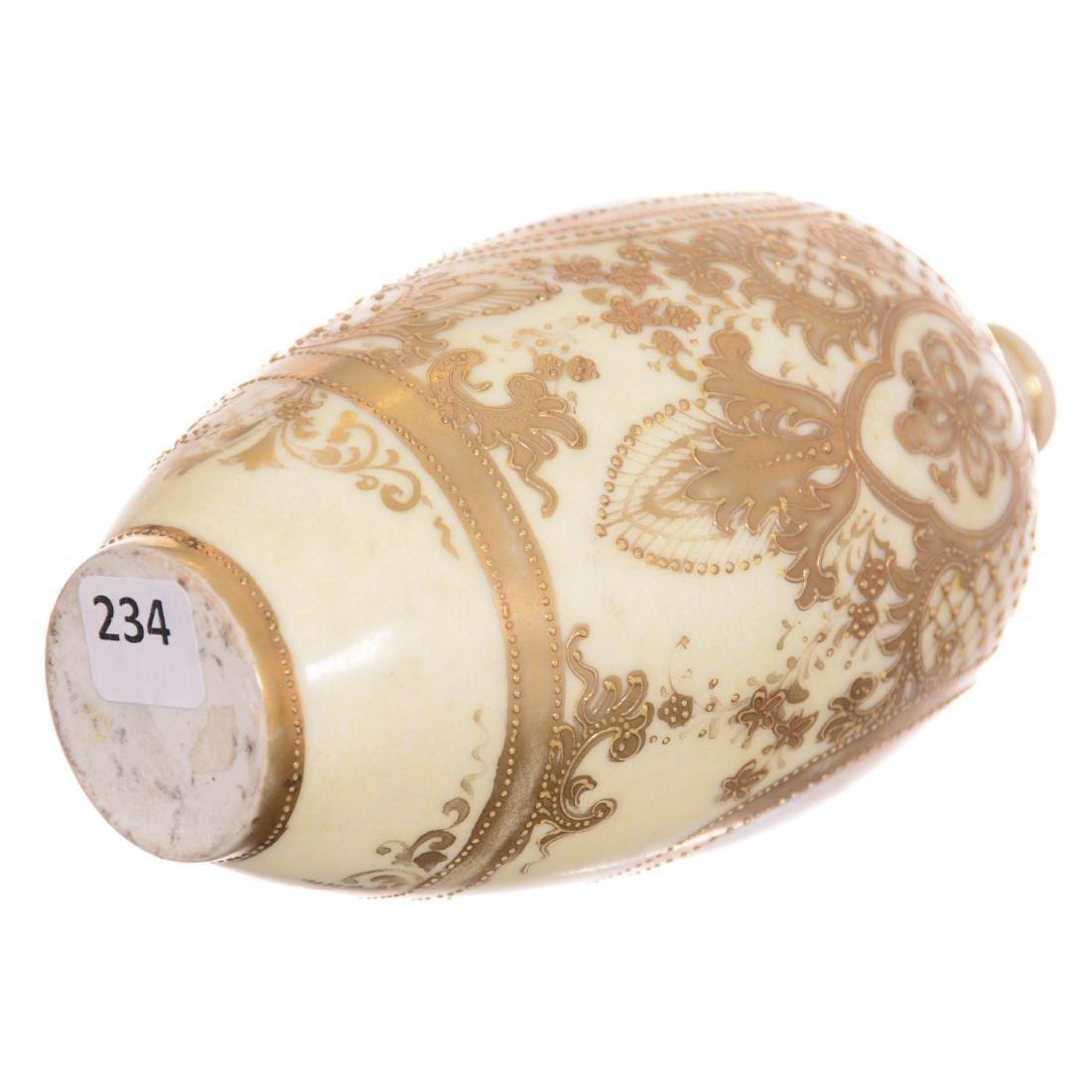 Unmarked Nippon Style Vase - 3
