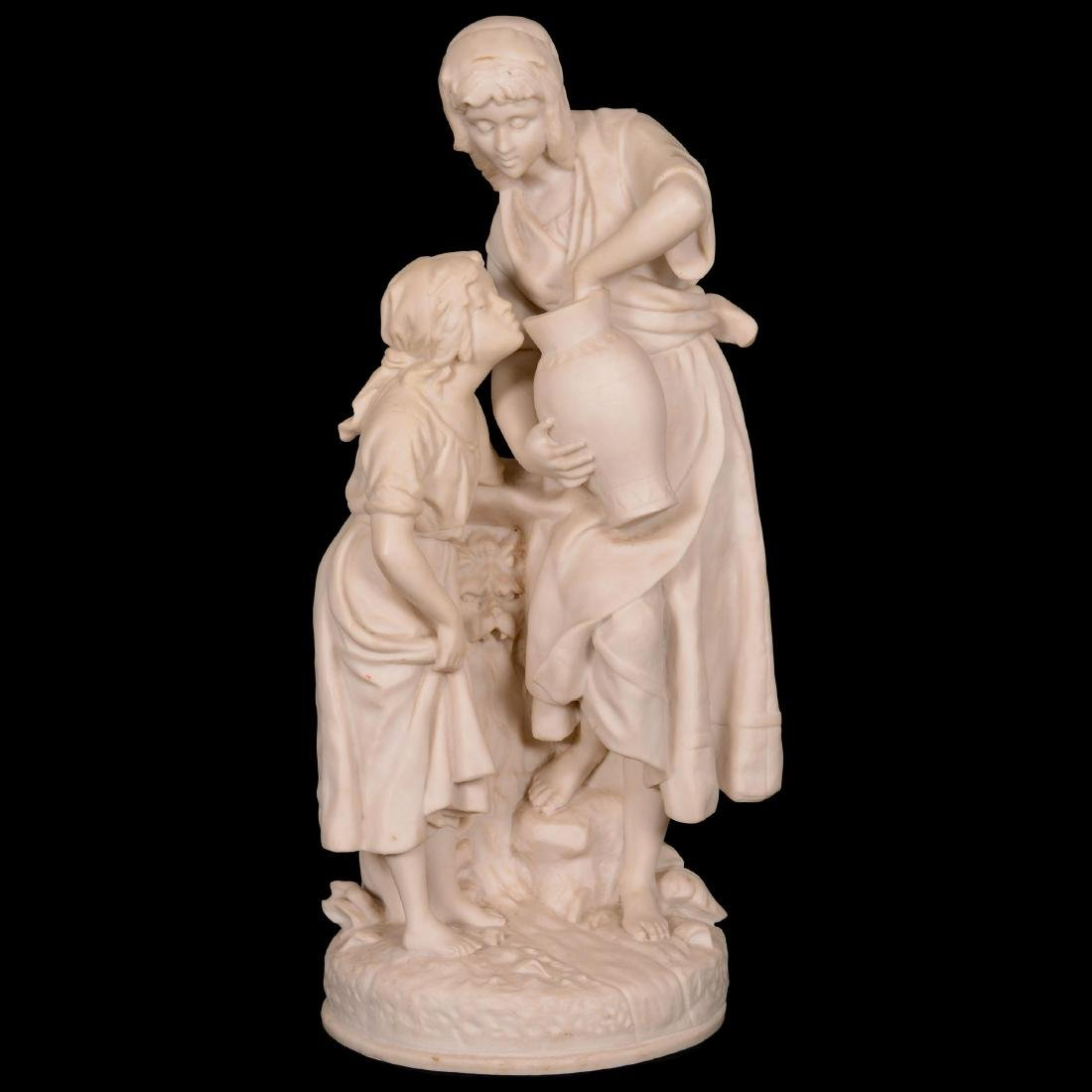 French Marble Statue by Joseph Carlier (1849-1927) Know
