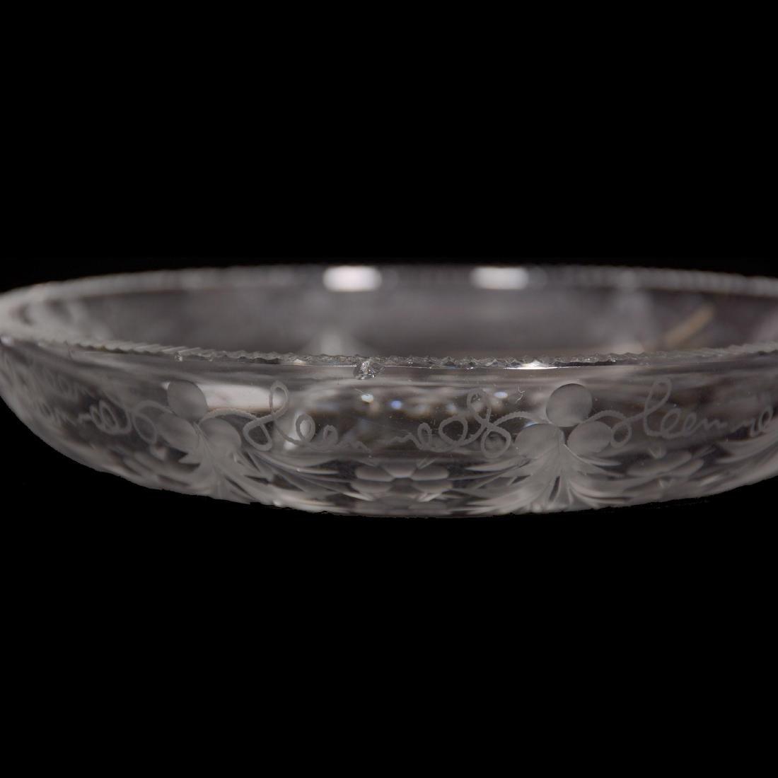 American Brilliant Cut Glass Nappy - 2