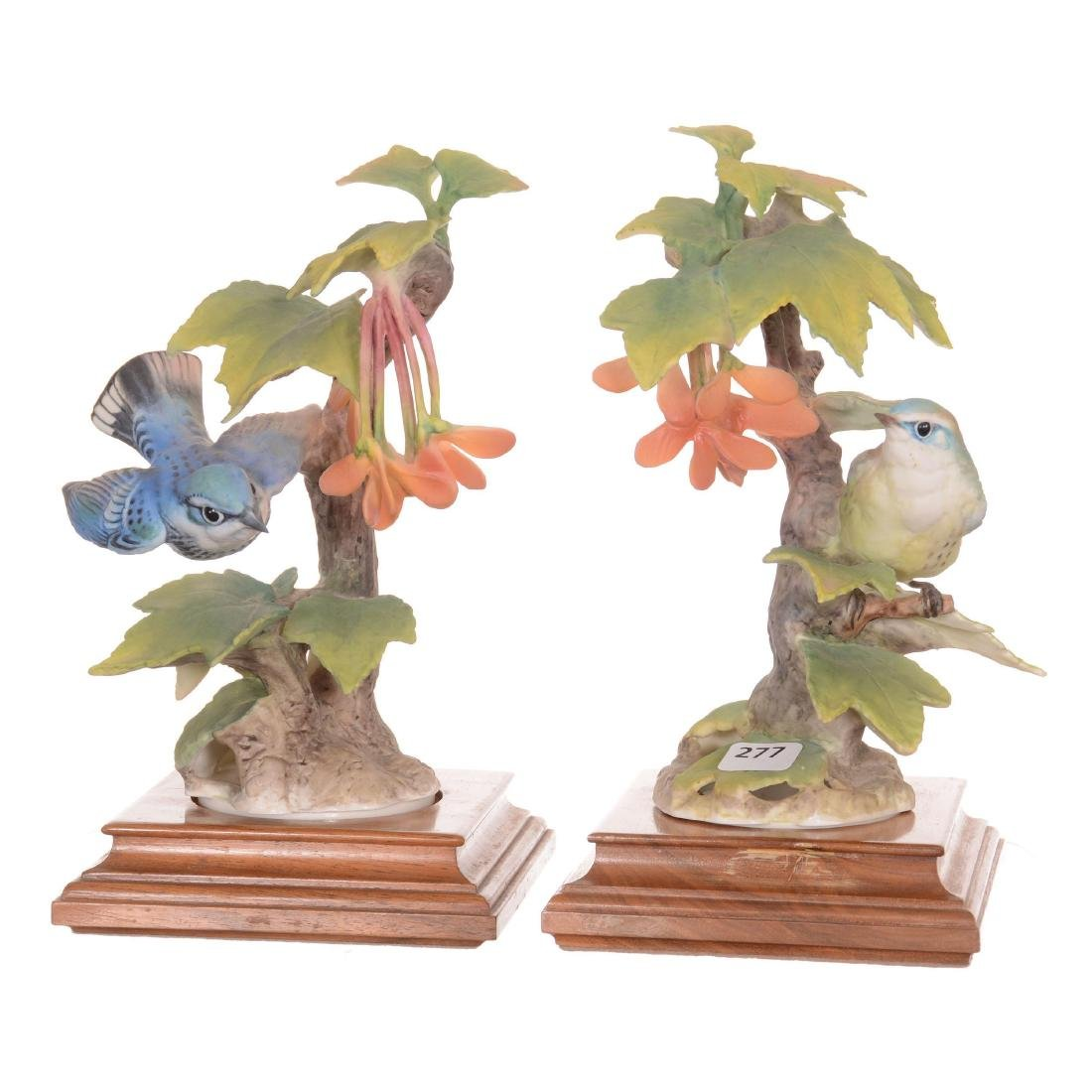 Pair of Royal Worcester Bird Figures