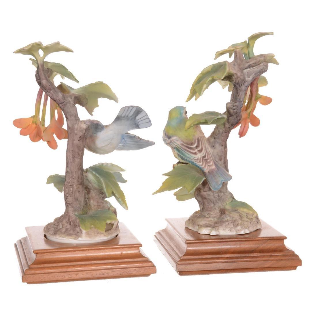 Pair of Royal Worcester Bird Figures - 2
