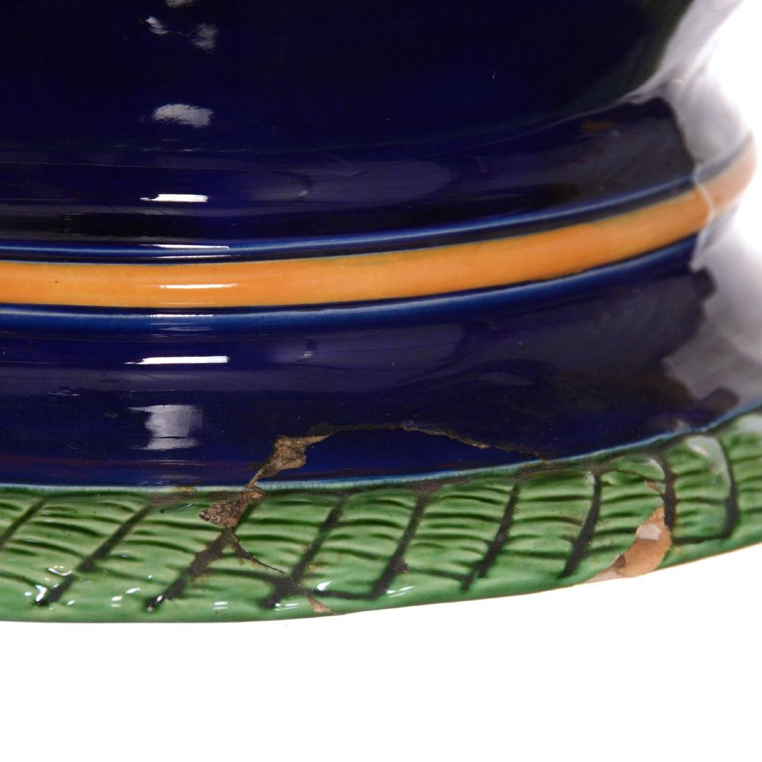 Large Minton Majolica Planter/Jardiniere - 3