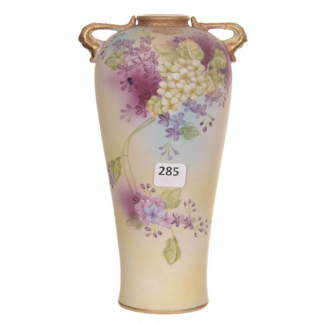 Marked Japan Two-Handled Vase