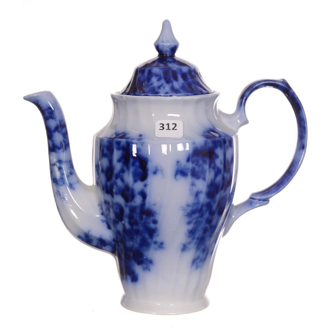 Flow Blue Coffee Pot - 2