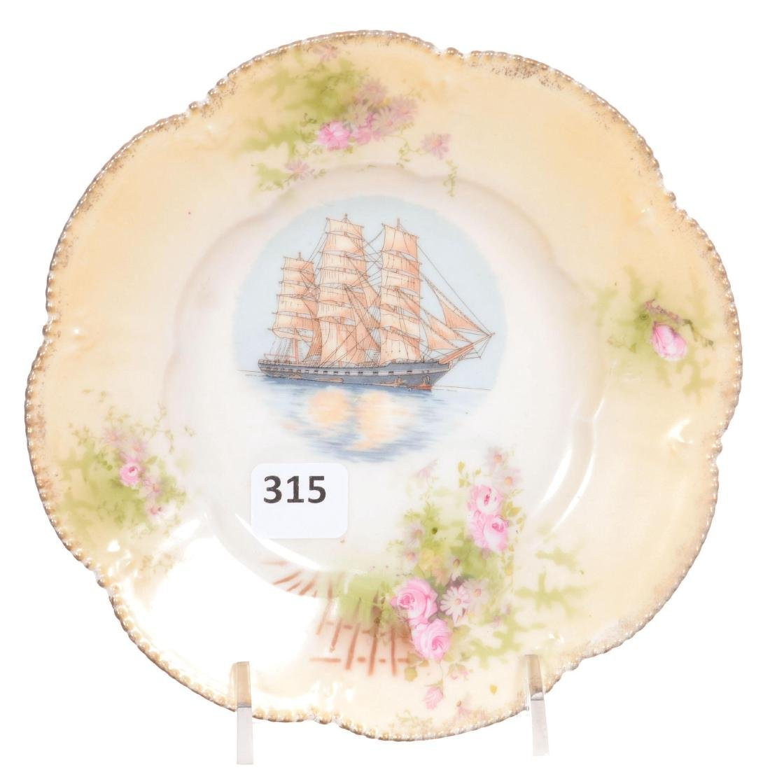 Unmarked Prussia Dessert Plate