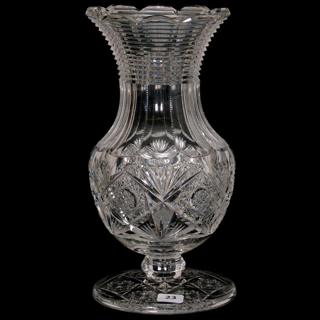 Pedestal Vase - ABCG