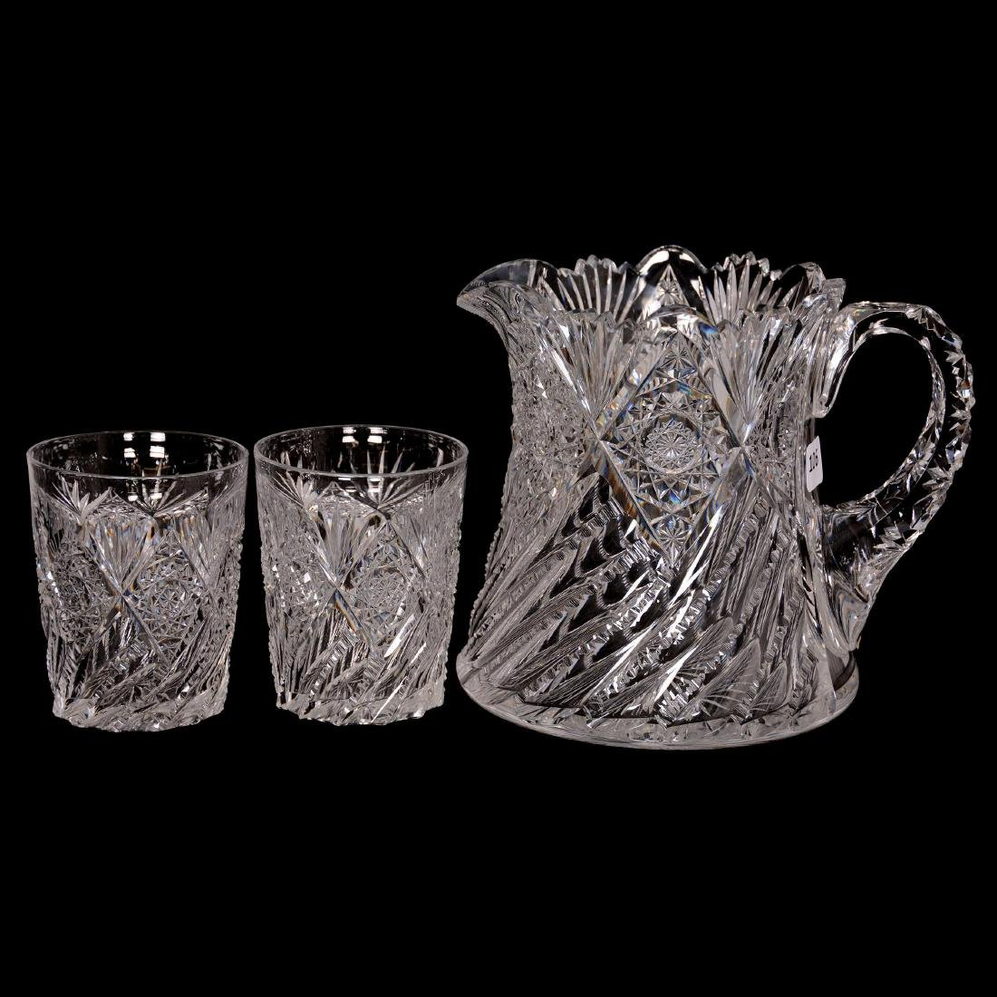 Cider Pitcher and (2) Tumblers - ABCG