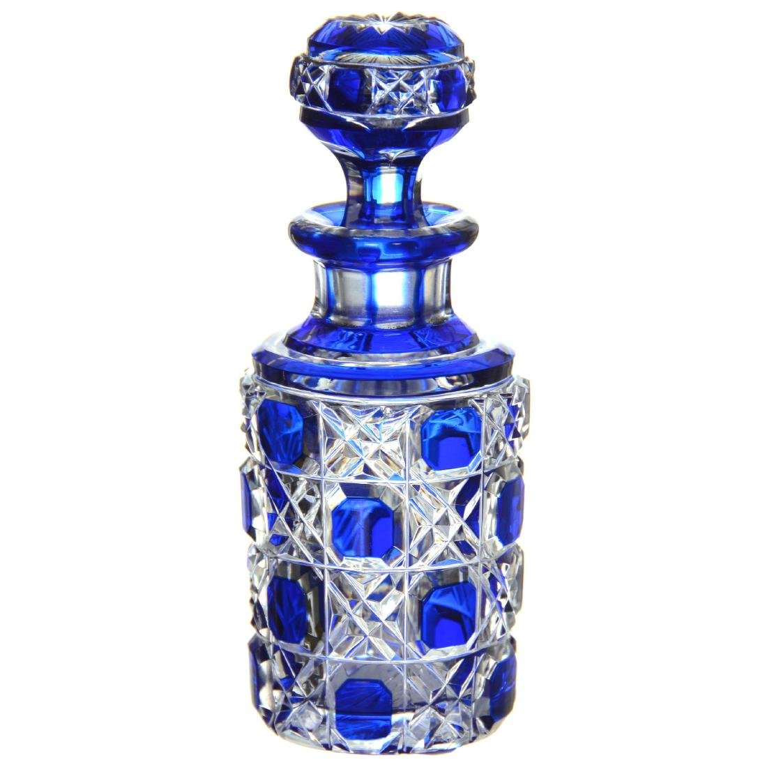 Blue Cut to Clear Perfume Bottle