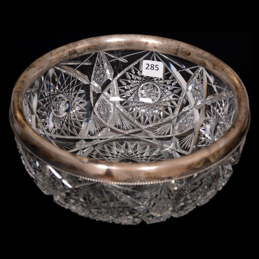 Bowl with Sterling Rim - ABCG
