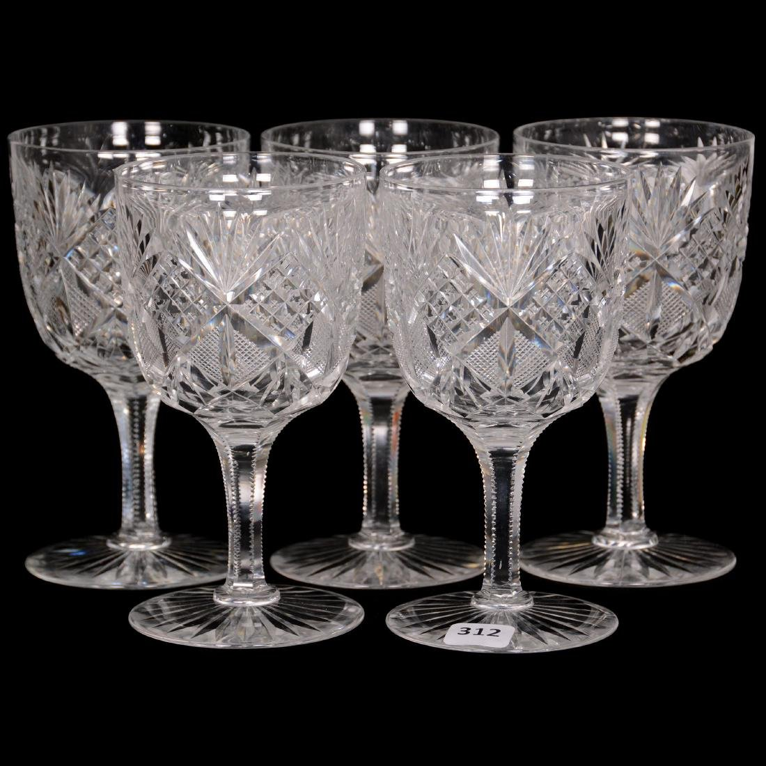 (5) Water Goblets - ABCG